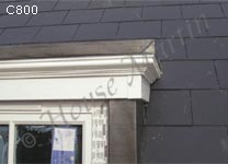 C800 Cornice to Traditional Dormer